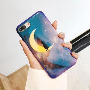 ⚠️LAST NEW iPhone 7+/8+ Moon Black Cat Case
